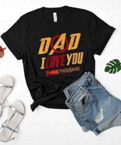 American Water Spaniel Dog Lovers Shirt I Love You 3000 Tee
