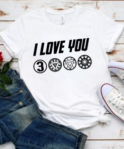 I Love You 3000 Thanks Tony Shirt