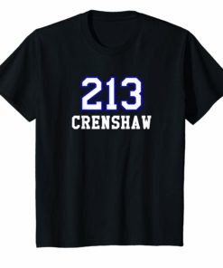 213 Crenshaw Los Angeles Shirt