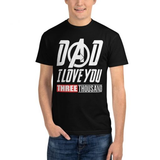 American Eskimo Dog Lovers T-Shirt I Love You 3000 Tee