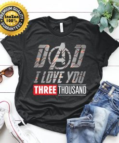 American Bulldog Dog Lovers T-Shirt I Love You 3000 Tee