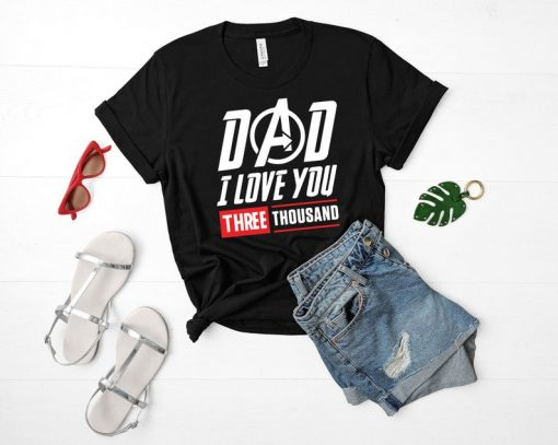 Alaskan Malamute Dog Lovers T-Shirt I Love You 3000 Tee