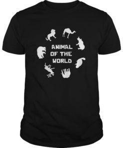 Animals of The World Shirt