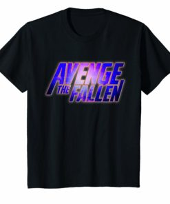 Avenge The Fallen End Game Superhero Themed T-Shirt