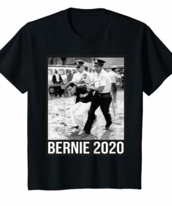 Bernie Sanders Protest Arrest Shirt