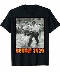 Bernie Sanders Protest Arrest Tee Shirt