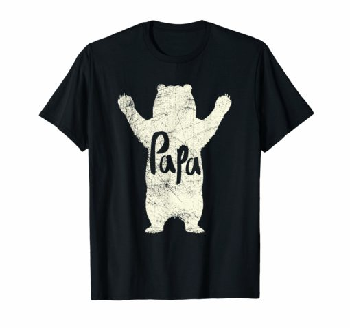 Big Papa Bear Hug T Shirt