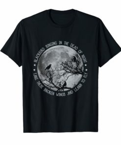 Blackbird Singing In The Dead Of Night T-Shirt