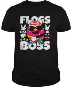 Floss Like A Boss Funny Easter Egg Shirt Flossing