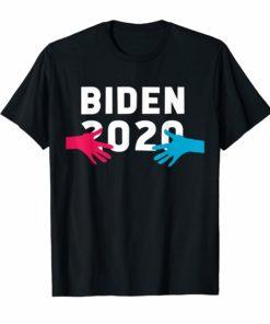 Hands Hug Joe Biden 2020 Funny TShirt