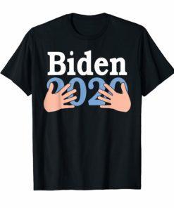 Hands Hug Joe Biden 2020 T-Shirt