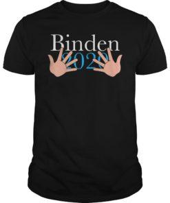 Joe Biden 2020 Hands Funny T-Shirt
