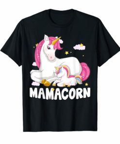 Mamacorn Shirt Unicorn New Mom Baby Mommy Mother Gift