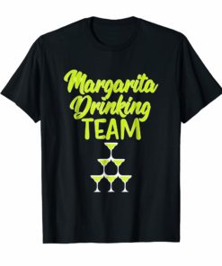 Margarita Drinking Team Funny Cinco de Mayo Fiesta Shirt