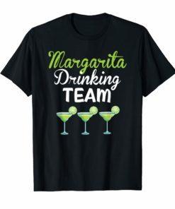 Margarita Drinking Team T Shirt Cinco De Mayo Women