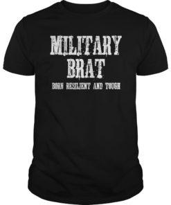 Military Child Month Purple Up Pride Brave Brat TShirt