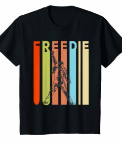 Vintage Freddie T-Shirt Mercurys Music Gift Men Women Shirts
