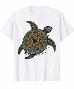 Vintage Tribal Hawaiian Sea Turtle Shirt
