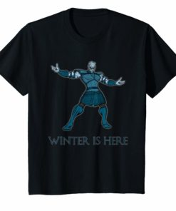 Winter Is Here Cool Game Shirt
