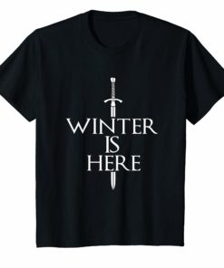 Winter Is Here Fan Holiday T-Shirt