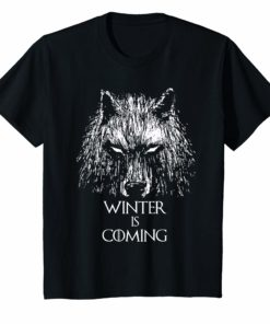 Wolf Winter Is Coming T-Shirt