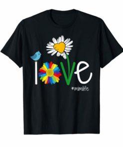 Woman Mom Love Mimi life T-Shirt