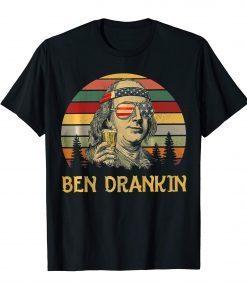 Ben Drankin 4th of July Vintage T-Shirt