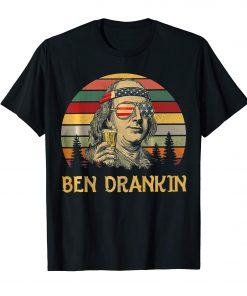 Ben Drankin 4th of July Vintage T-Shirt