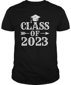 Class Of 2023 T-Shirt Grow With Me First Day Of School Shirt