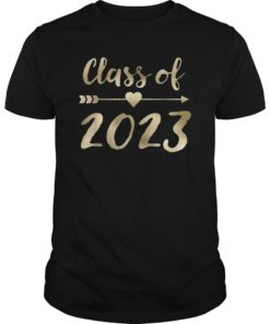 Class of 2023 Grow with Me T-Shirt First Day of School