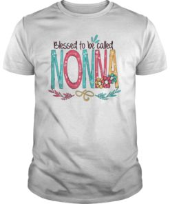 Womens Blessed to be called Nonna T-Shirt