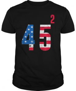 2 Terms Trump 45 Squared T-Shirt