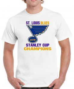 2019 St. Louis Blues Stanley Cup Champions Graphic T-Shirt