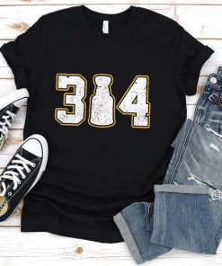 314 3 Cup 4 Funny T-Shirt Unisex