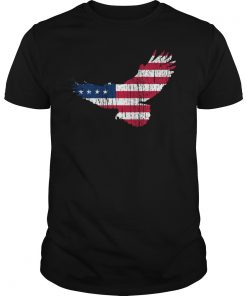 4th Of July American Flag Freedom Eagle T-Shirt USA