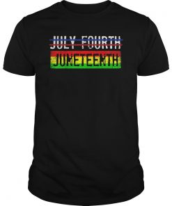 Black History African Freedom Juneteenth Flag Gift T-Shirt