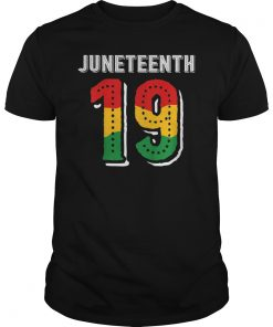 Juneteenth 19 African American Black History Gift T-Shirt