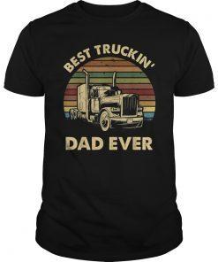 Mens Best Truckin' Dad Ever T-Shirt