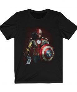 Stan Lee Marvel All Avengers Heroes In One T-Shirt Stan Lee Marvel End Game Shirt