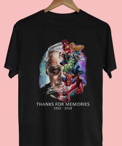Thank For Memories 1922 2018 Shirt - RIP Stan Lee Tee