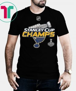 St. Louis Blues Stanley Cup Champions 2019 T-Shirt