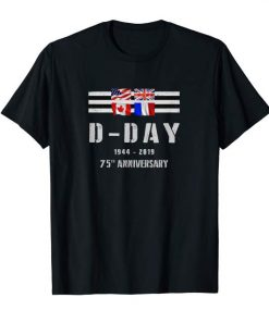 WWII D-Day 75th Anniversary T-shirts