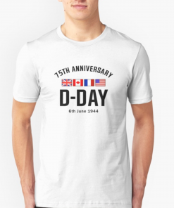 WWII D-Day 75th Anniversary Tee shirt