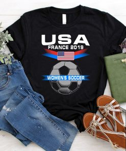 Womens USA Women's Soccer 2019 World Championship T-Shirt