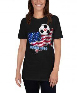 Women's World Cup Football Soccer T-Shirt