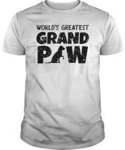 Worlds Greatest Grand Paw Labrador Retriever Shirt Grandpaw