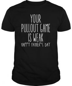 Your Pullout Game Is Weak TShirt