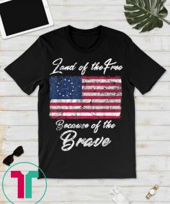 1776 Betsy Ross Flag Gift Shirt American Flag Shirt 13 Stars American Flag Gift T-Shirts