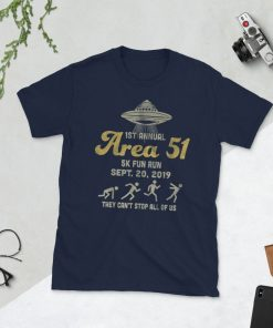 1ST Annual - Area 51 5k Fun Run - SEPT. 20, 2019 Tshirt