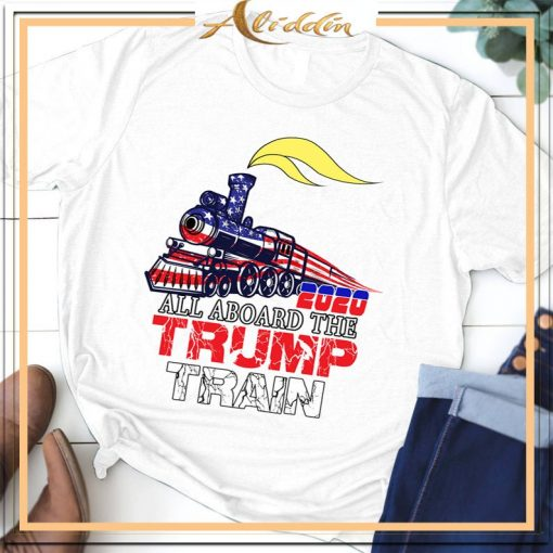 2020 All aboard the trump train Unisex Shirt